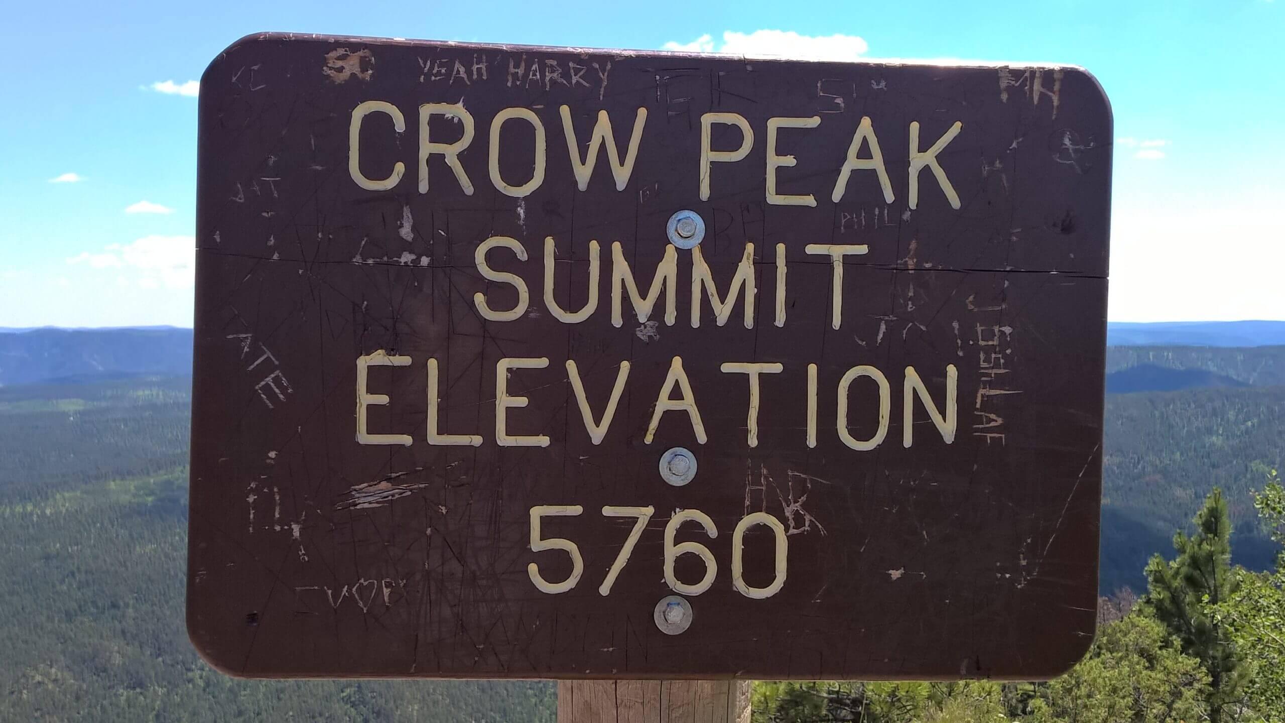 Crow Peak 1