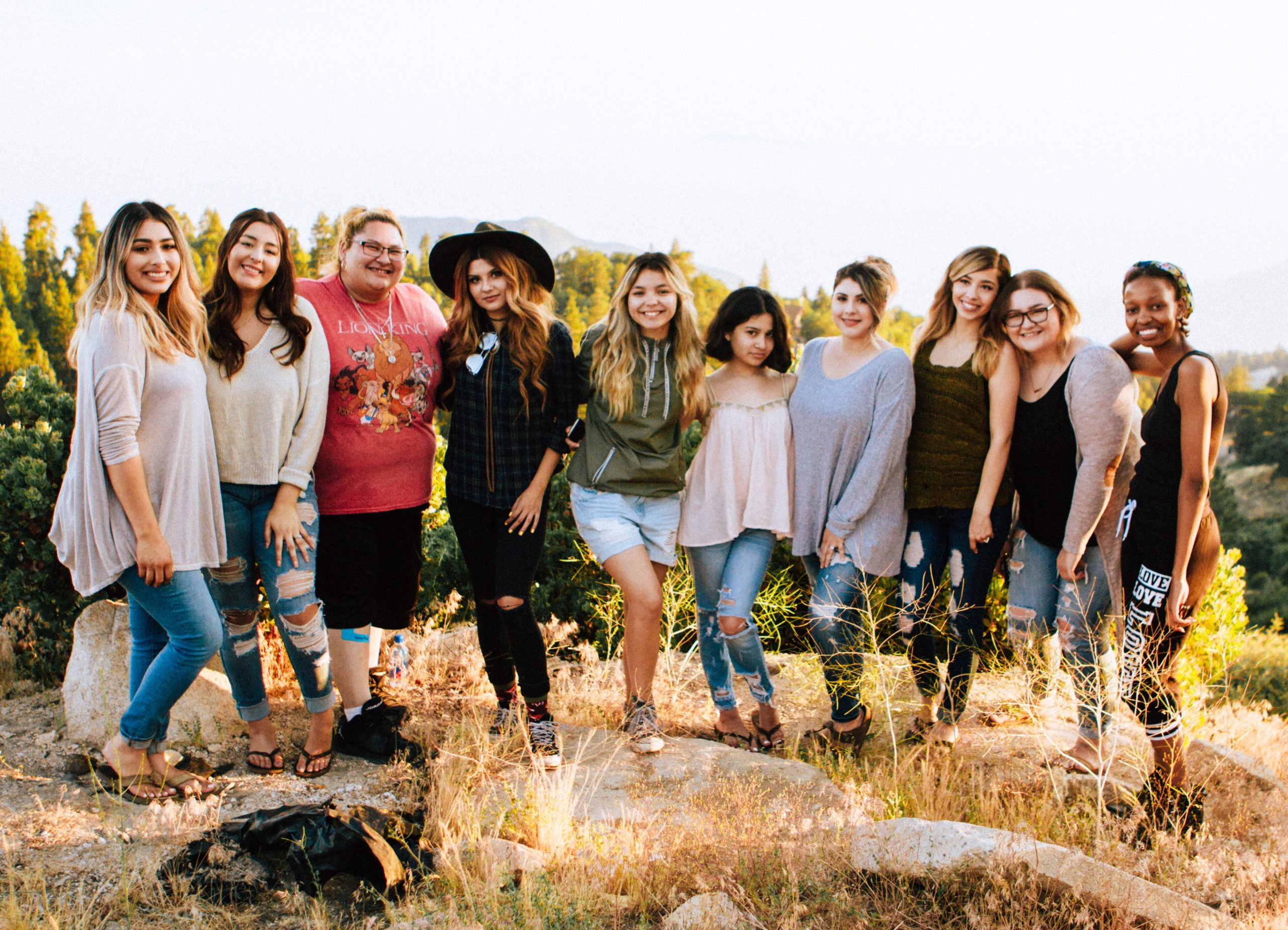 Camping Bachelorette Party 1
